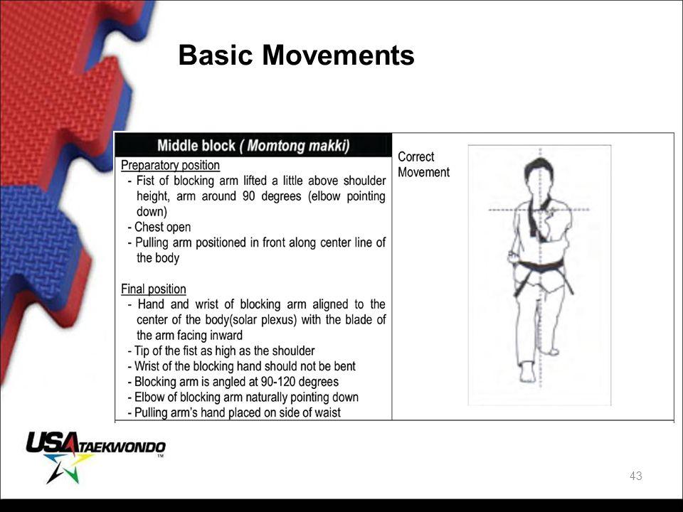 Basic Movements 43
