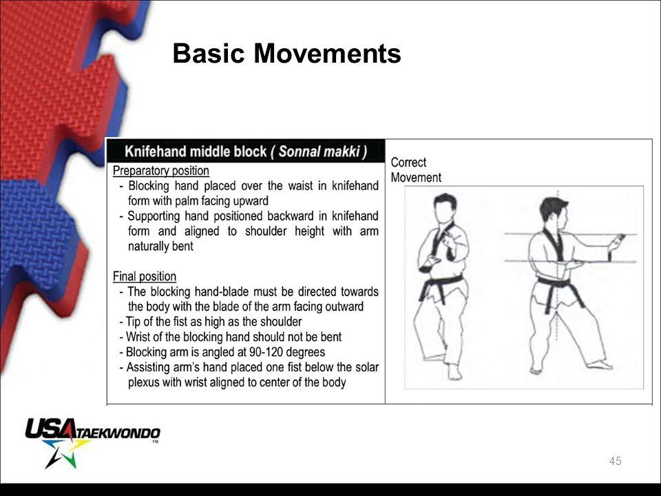 Basic Movements 45