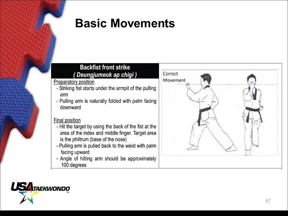 Basic Movements 47
