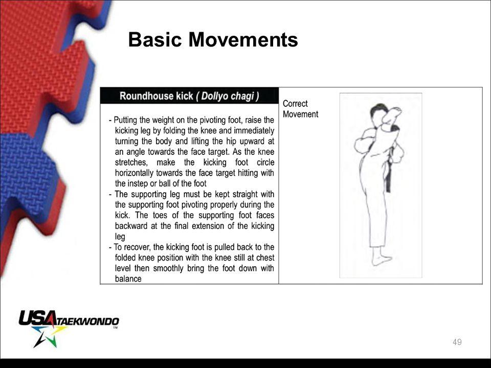 Basic Movements 49