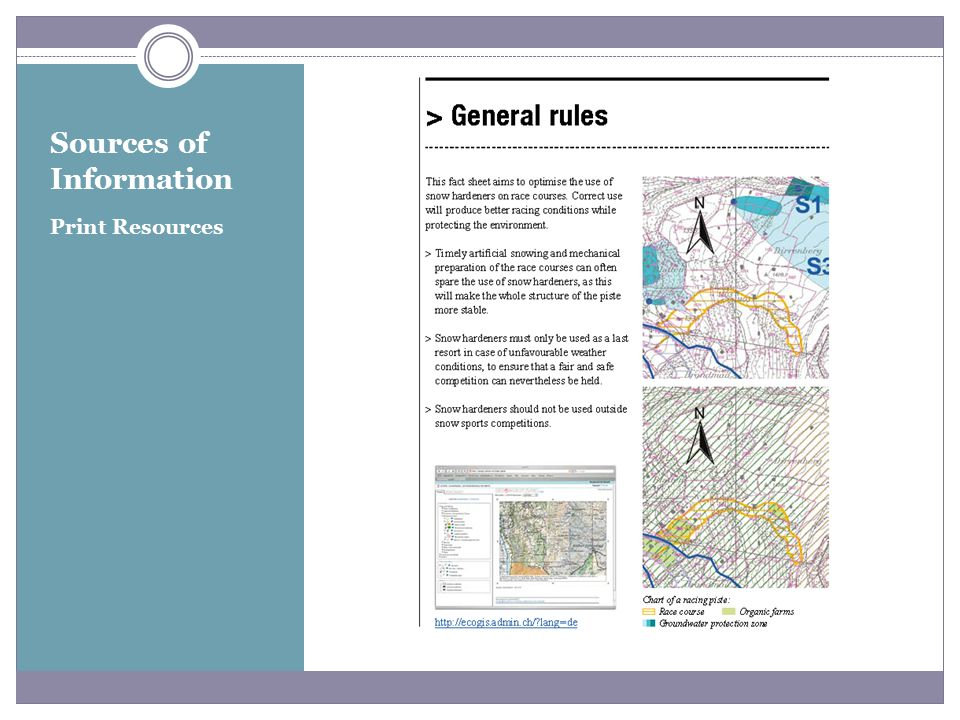 Sources of Information Print Resources