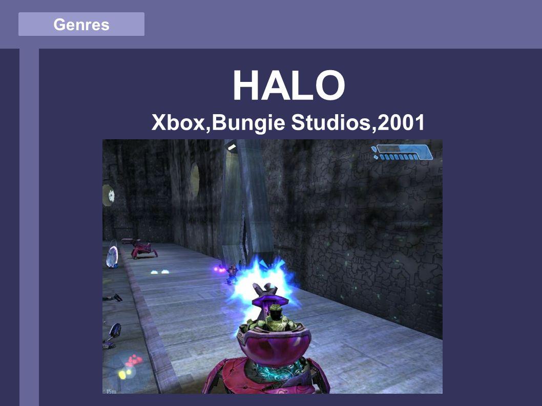 Genres HALO Xbox,Bungie Studios,2001