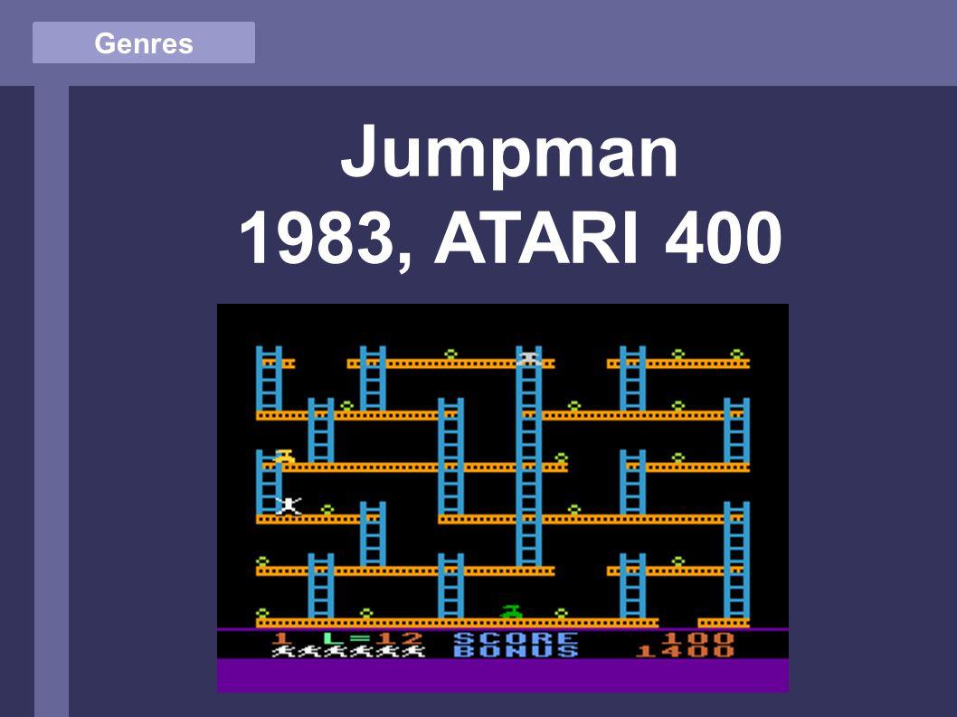 Genres Jumpman 1983, ATARI 400