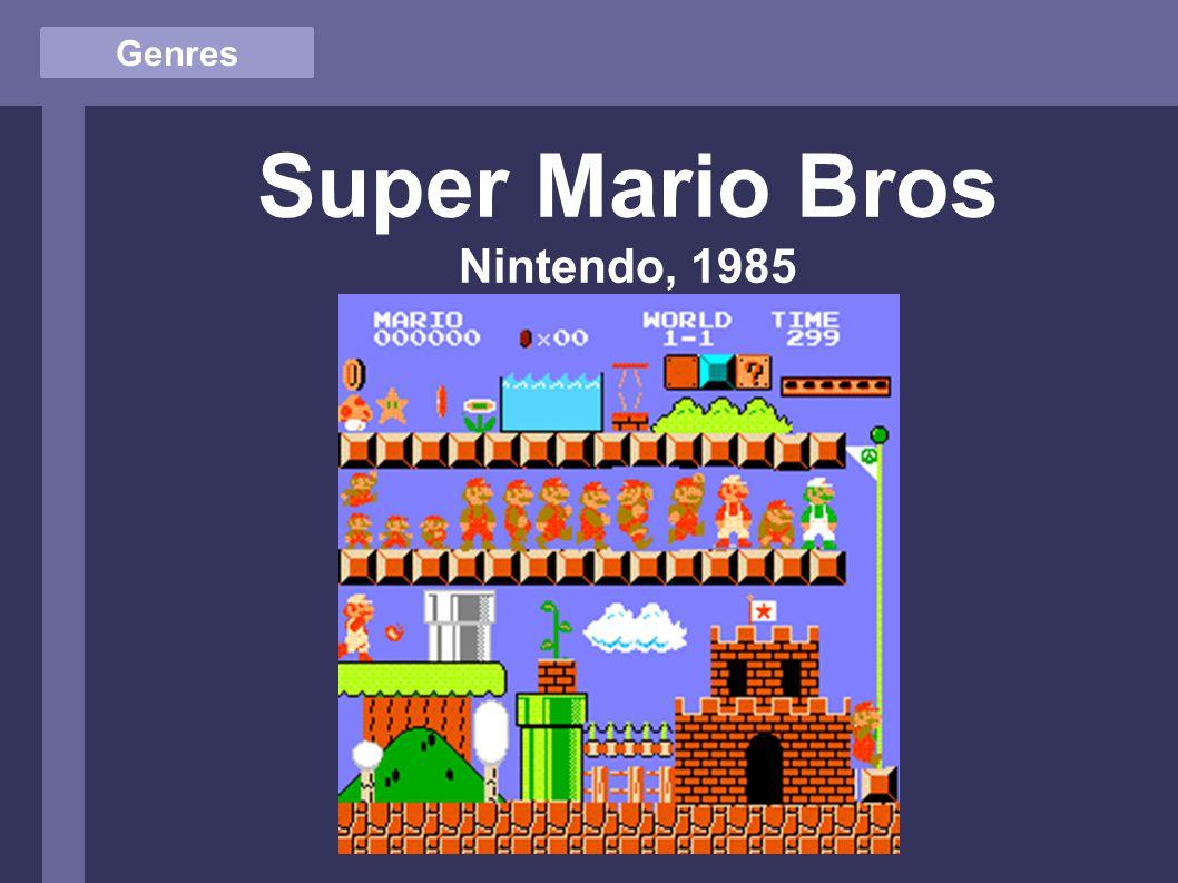 Genres Super Mario Bros Nintendo, 1985
