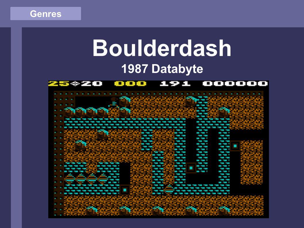 Genres Boulderdash 1987 Databyte
