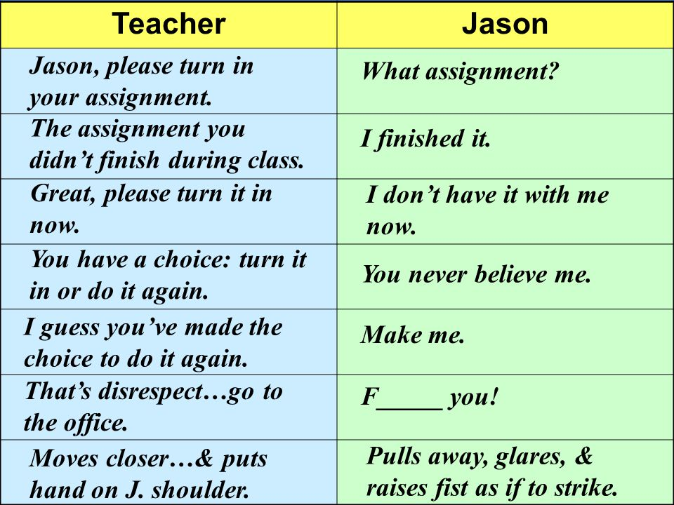TeacherJason Jason, please turn in your assignment.