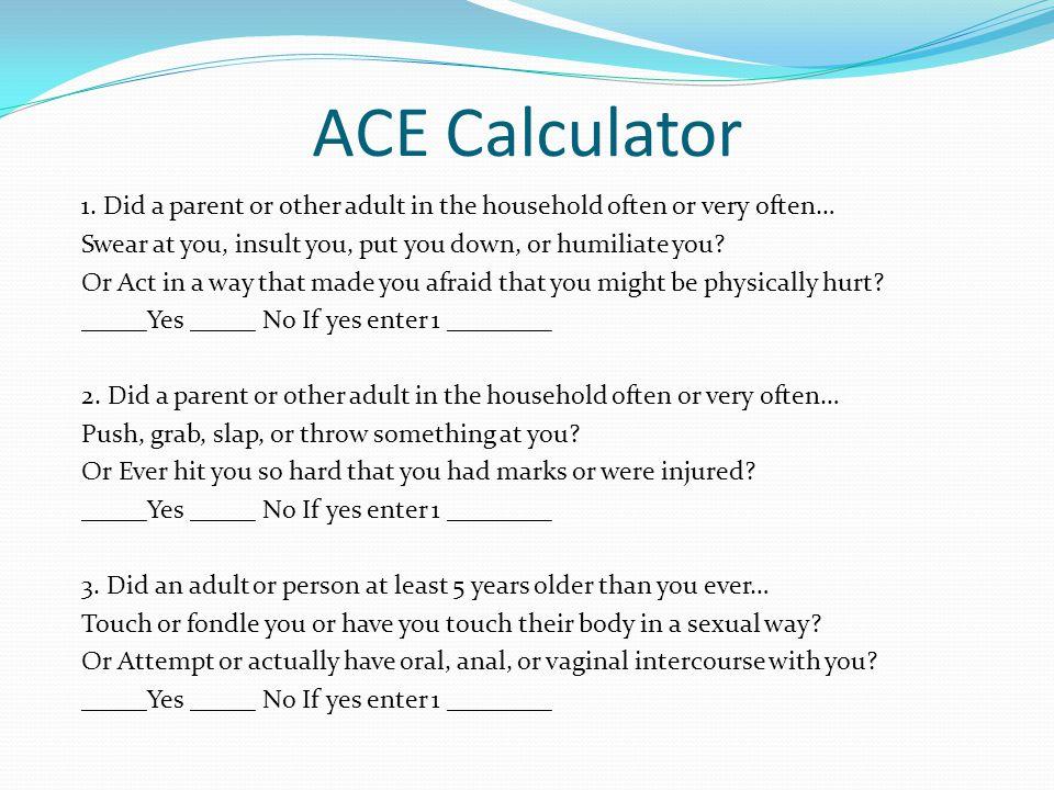 ACE Calculator 1.
