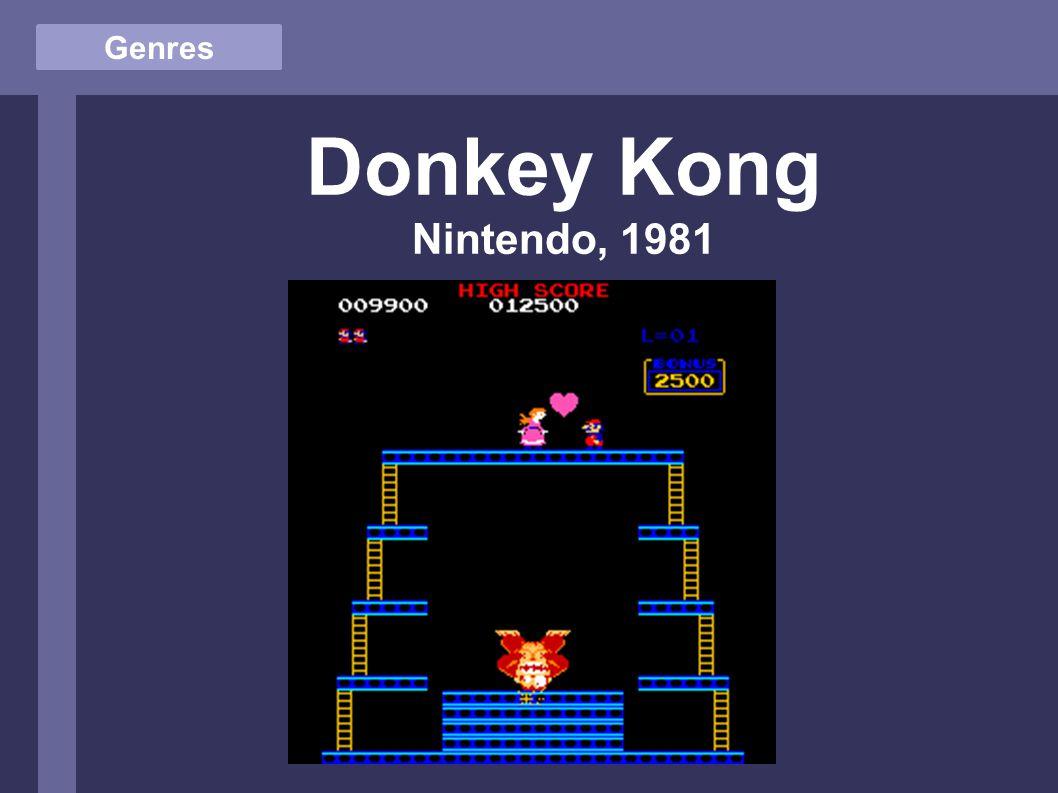 Genres Donkey Kong Nintendo, 1981