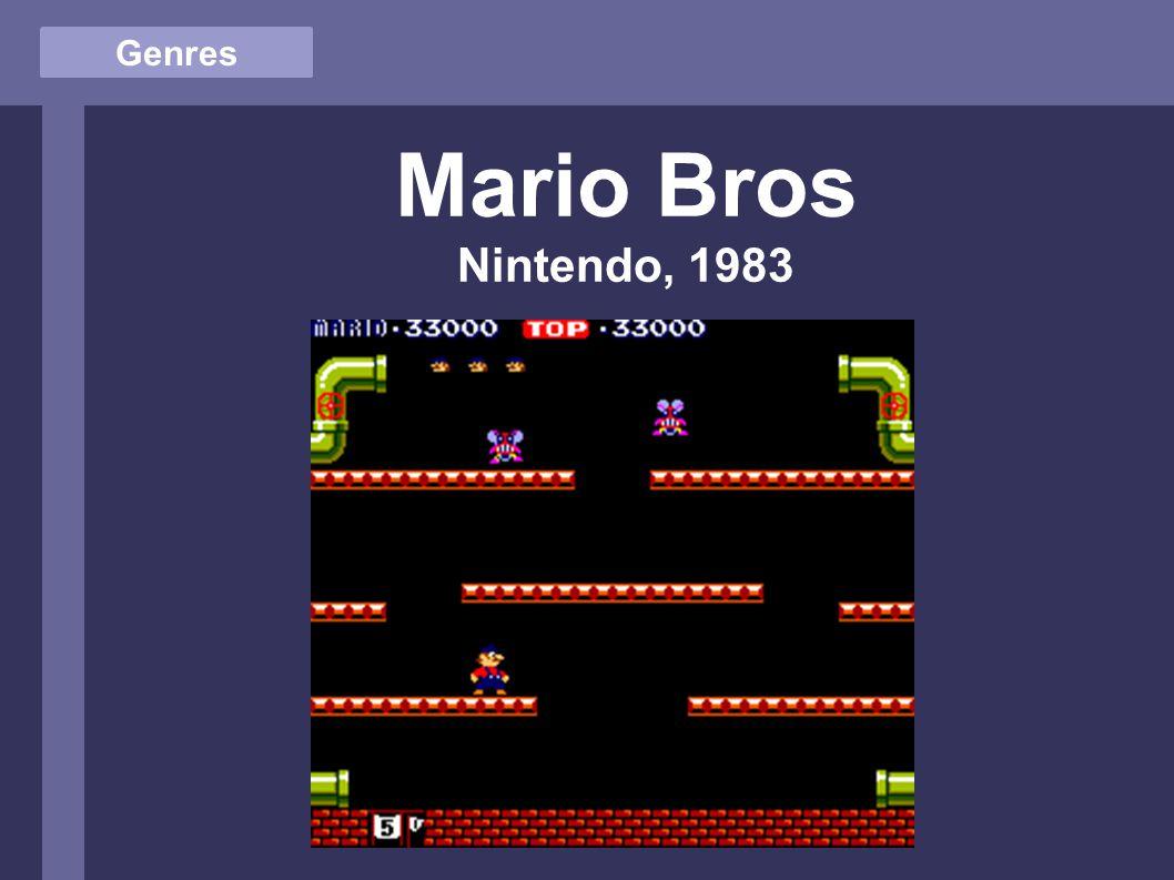 Genres Mario Bros Nintendo, 1983