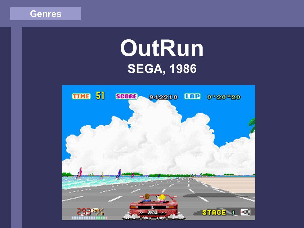 Genres OutRun SEGA, 1986