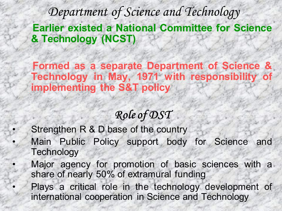 science research in india