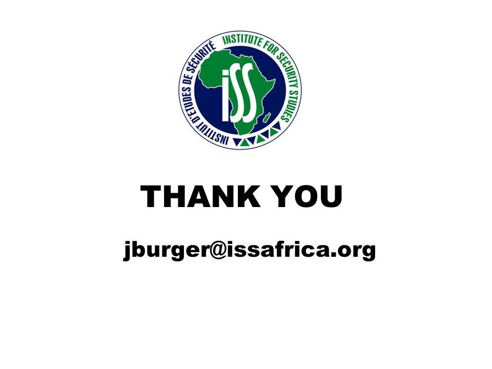 THANK YOU jburger@issafrica.org