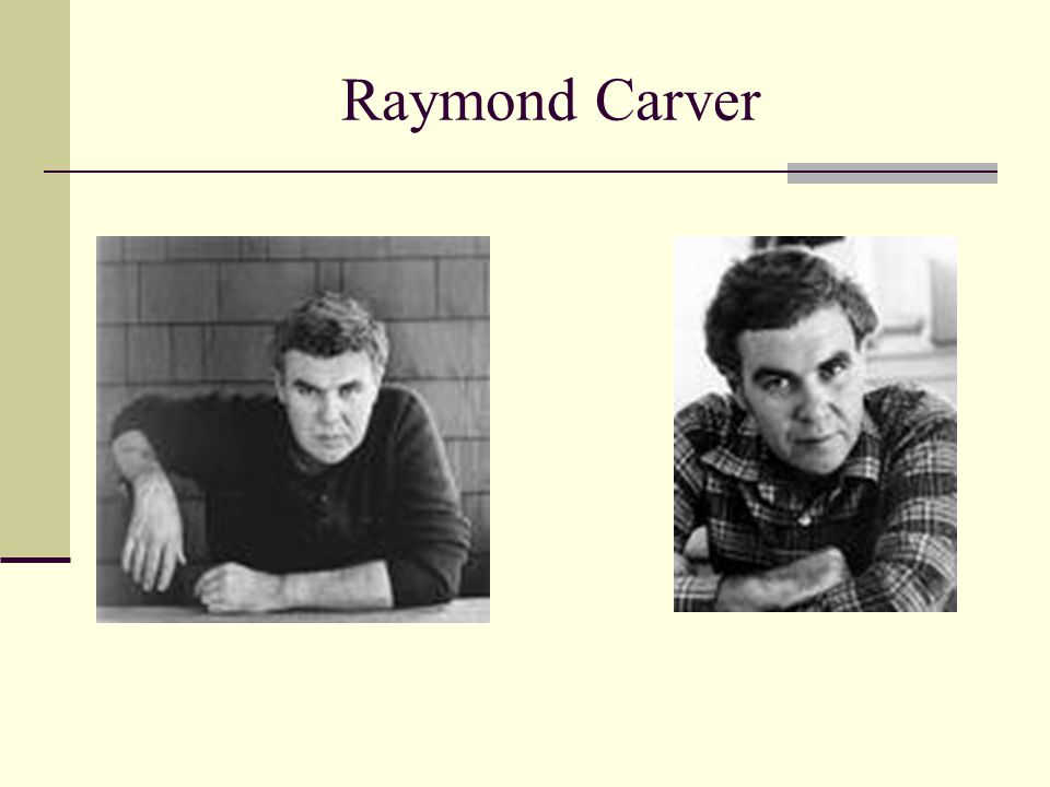 Thesis Statement Through his short stories, Raymond Carver portrays the ways in which people deal with their differences of opinion; however, none of their ways were effective in solving the problem.
