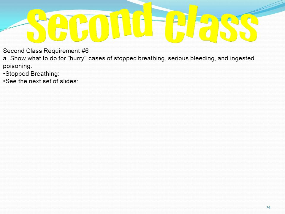 Second Class Requirement #6 a.