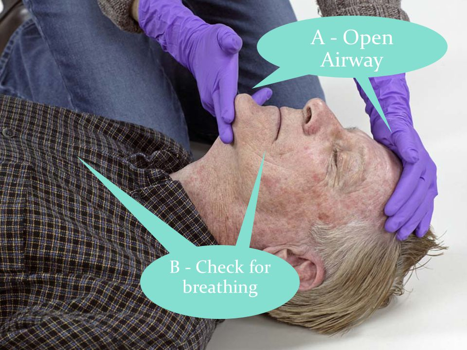 16 A - Open Airway B - Check for breathing