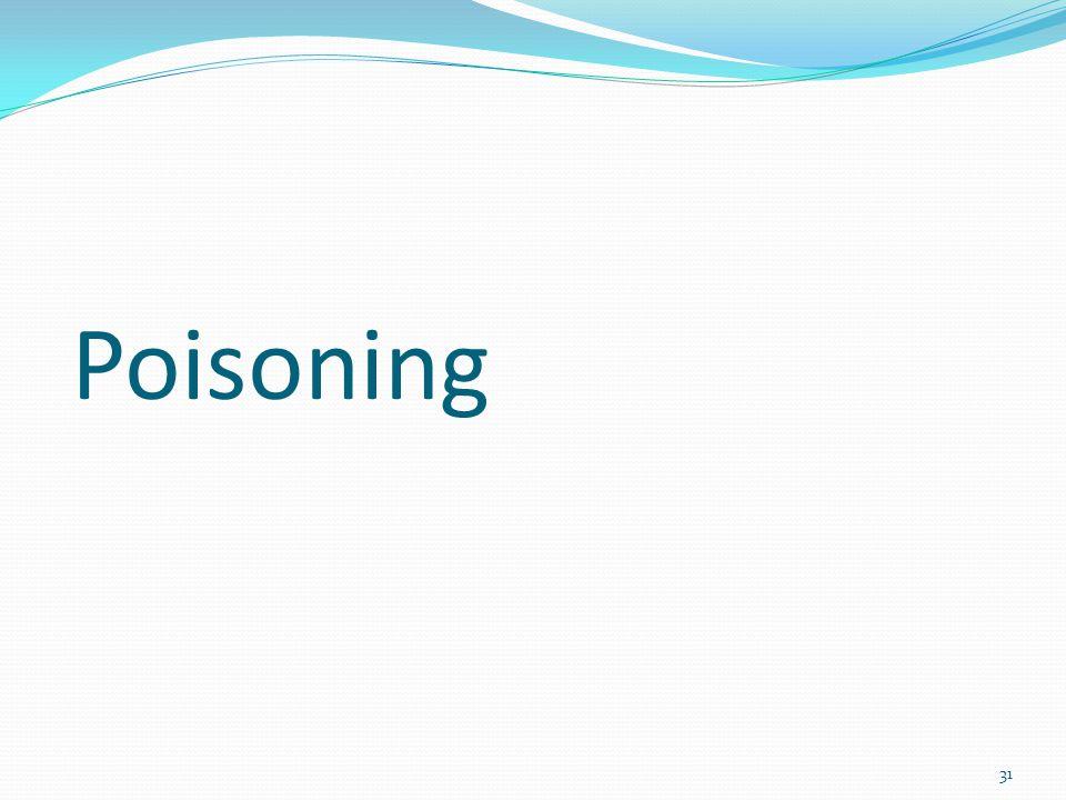 31 Poisoning