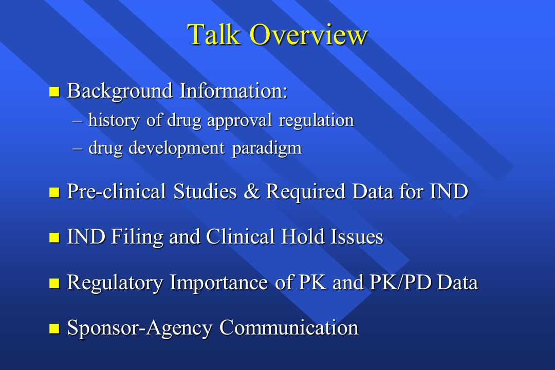 Regulatory Framework for Phase I & Clinical Pharmacology Studies Funmilayo O.