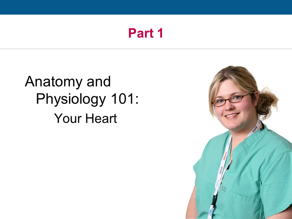 Anatomy and Physiology 101: Your Heart Part 1