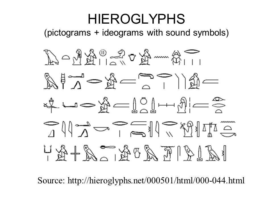 Ideograms (e.g.