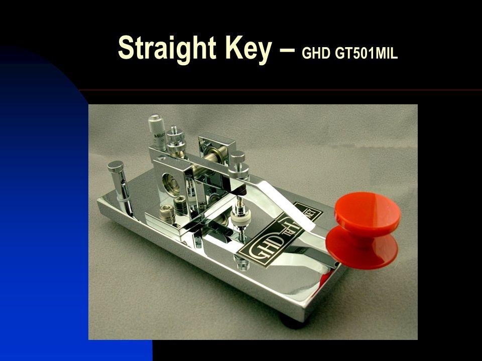 Straight Key – GHD GT501MIL