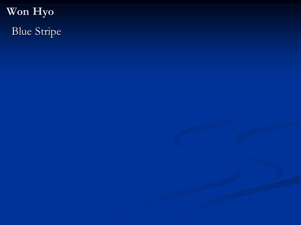 Won Hyo Blue Stripe