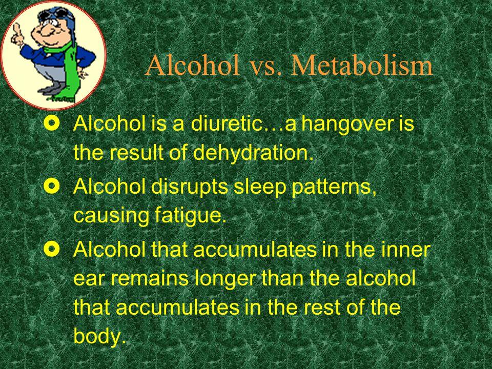 Alcohol vs.