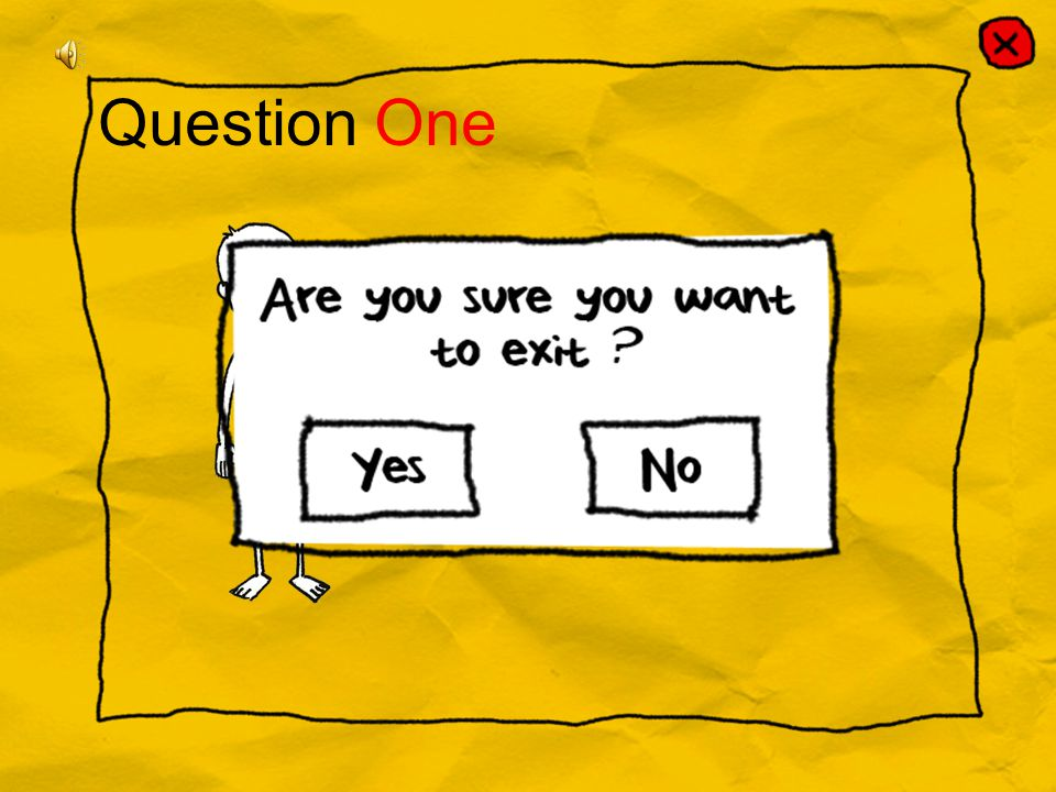 Question One ? A) Arm B) Head C) Chin