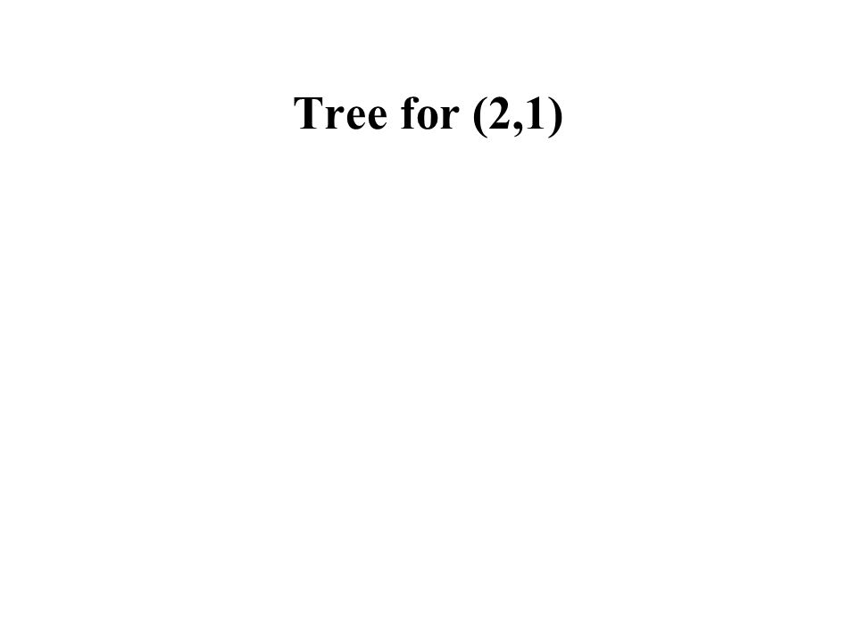 Tree for (2,1)
