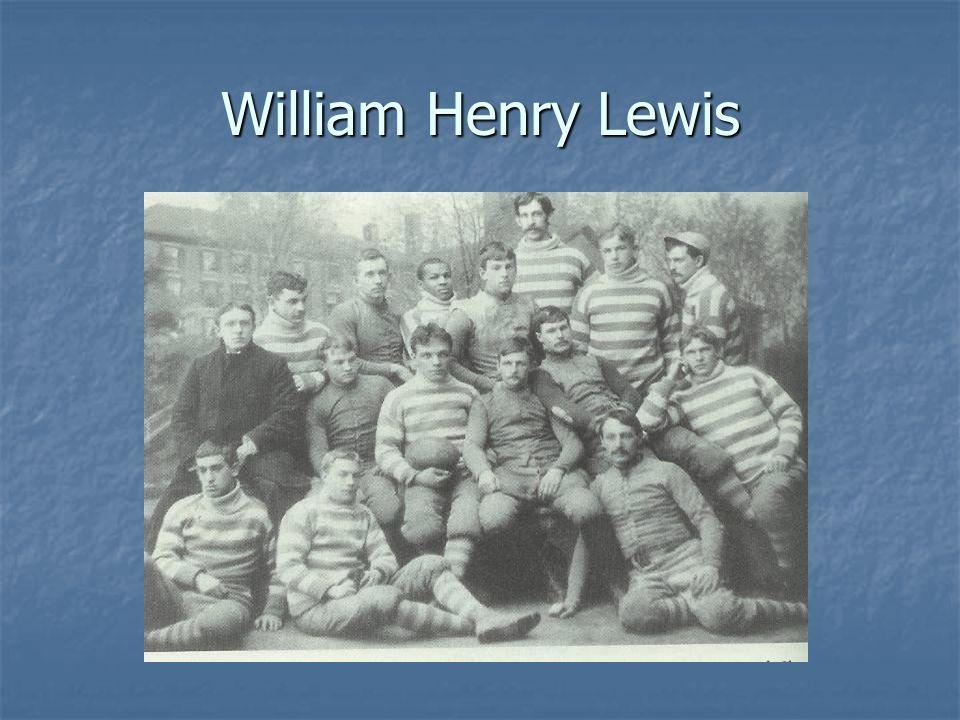 William Henry Lewis