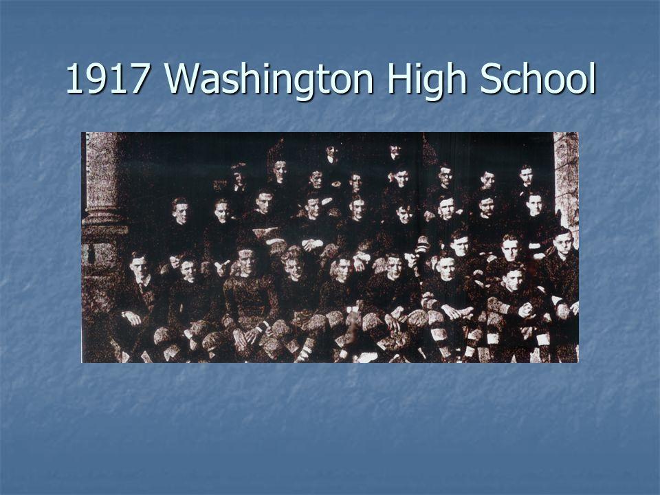 1917 Washington High School