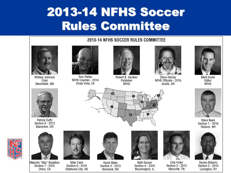 2013-14 NFHS Soccer Rules Committee
