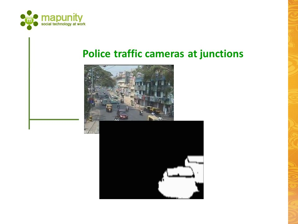 Police traffic cameras at junctions