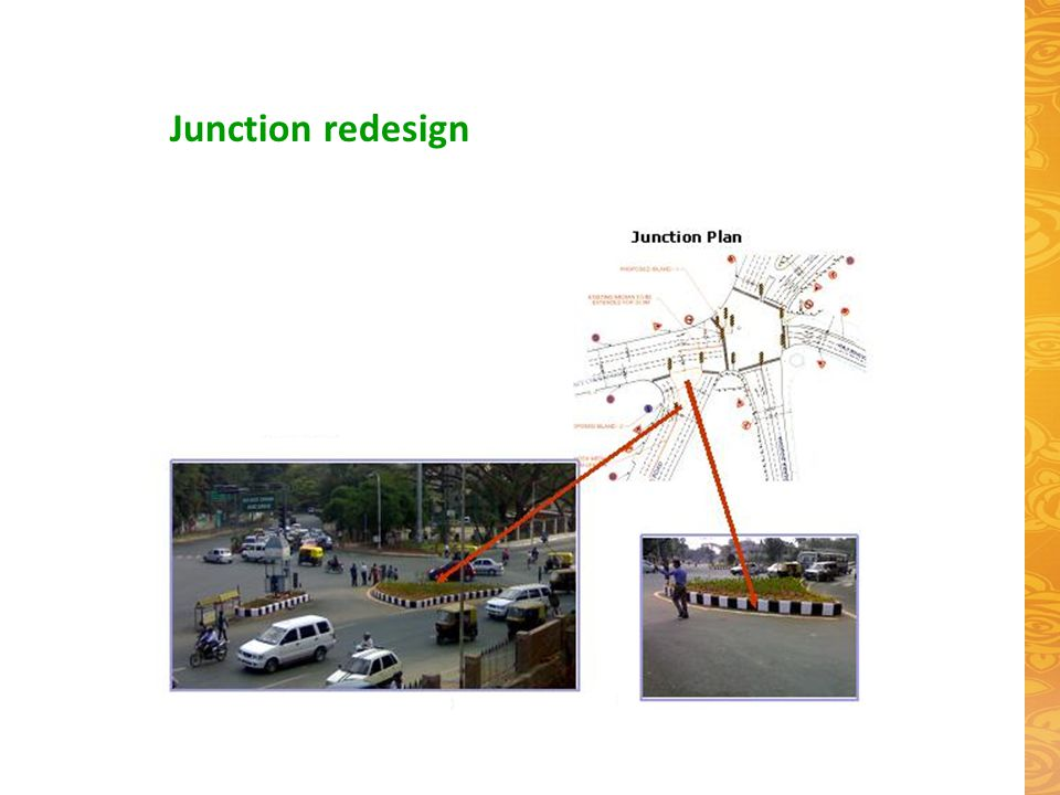 Junction redesign