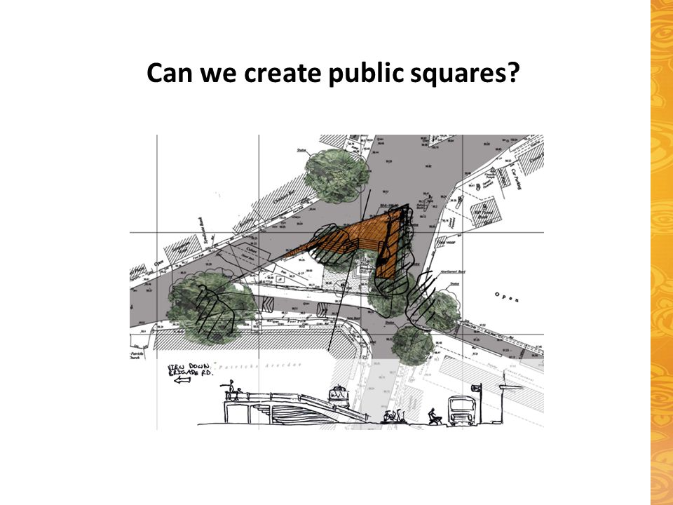Can we create public squares?