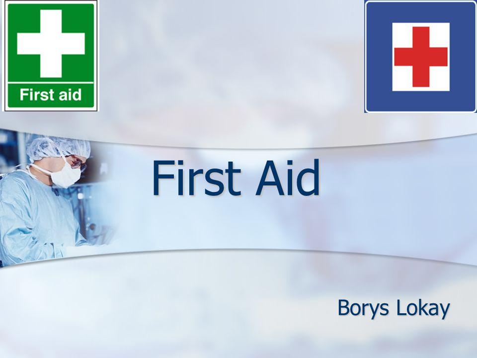 First Aid Borys Lokay
