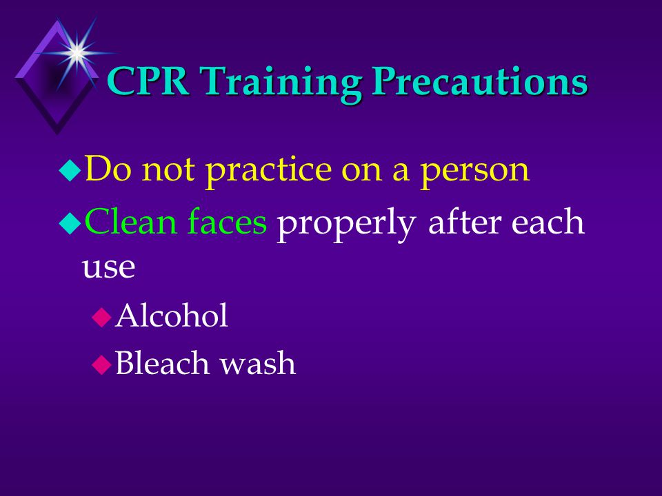 Why CPR May Fail u Delay in starting u Improper procedures (ex.