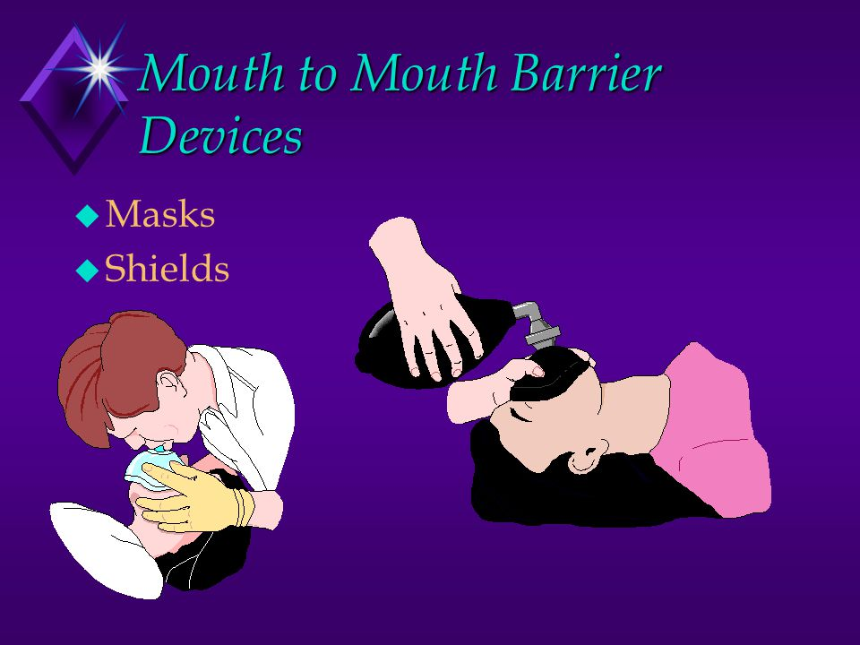 Mouth to Mouth Barrier Devices u Masks u Shields