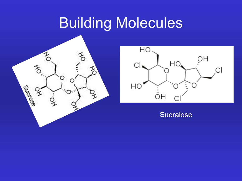 Building Molecules Sucralose