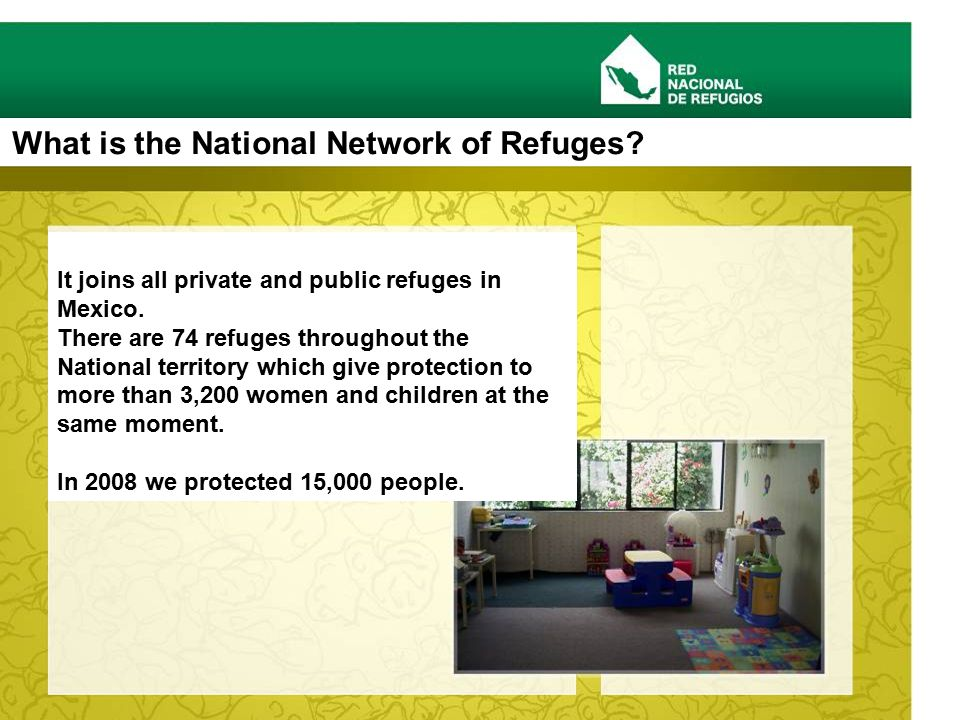 What is the National Network of Refuges. It joins all private and public refuges in Mexico.