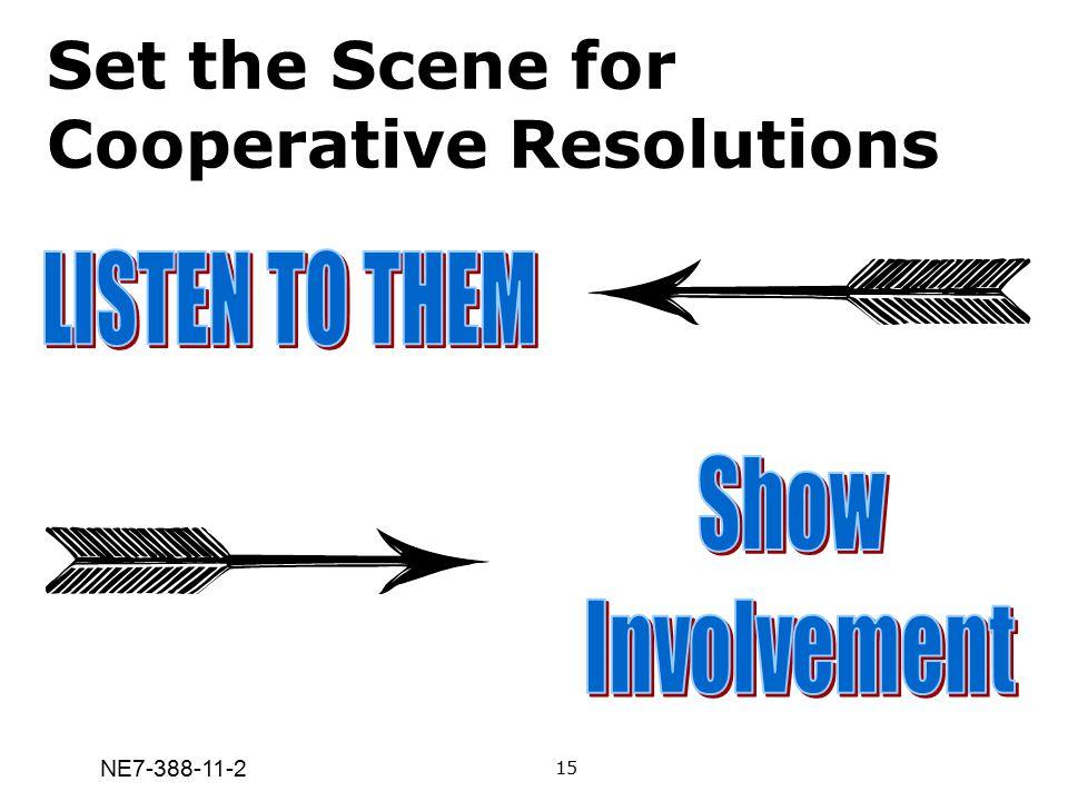 NE7-388-11-2 Set the Scene for Cooperative Resolutions 15