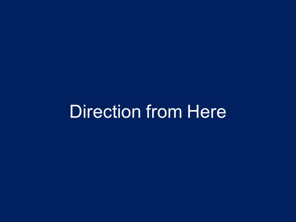 Direction from Here