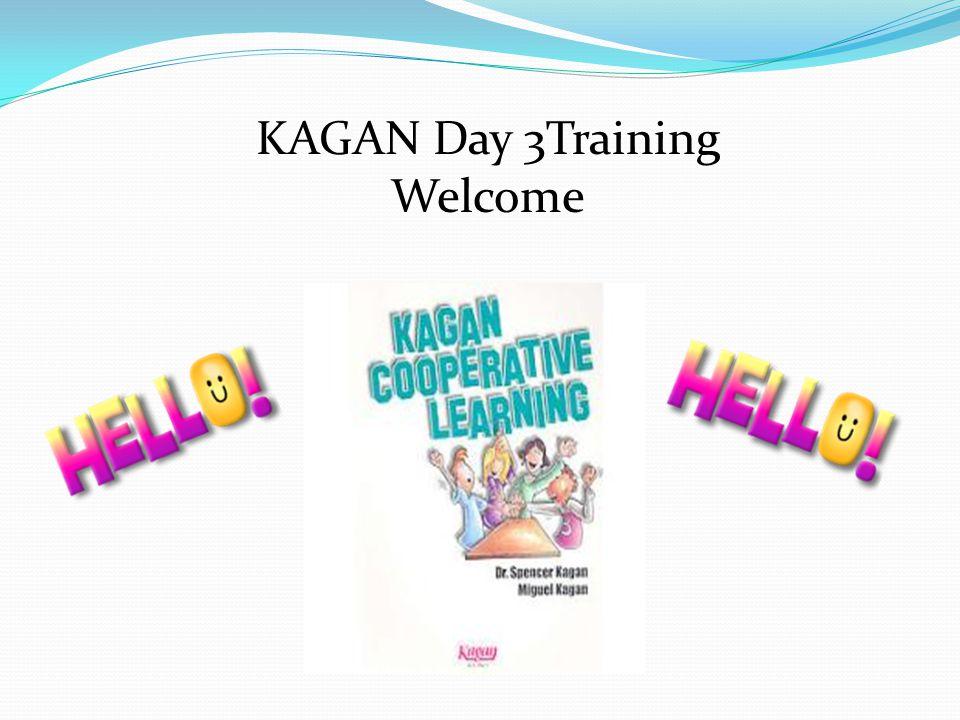 KAGAN Day 3Training Welcome