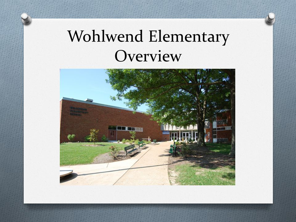 Wohlwend Elementary Overview