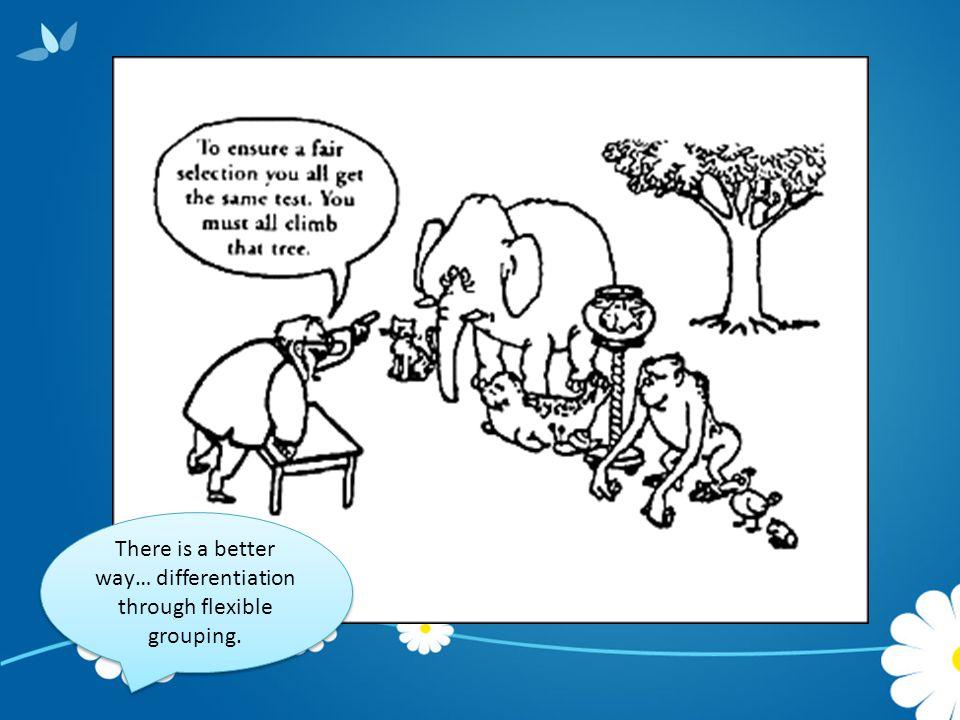 Research Says Flexible Grouping… Raises school achievement (Gentry, 1999).