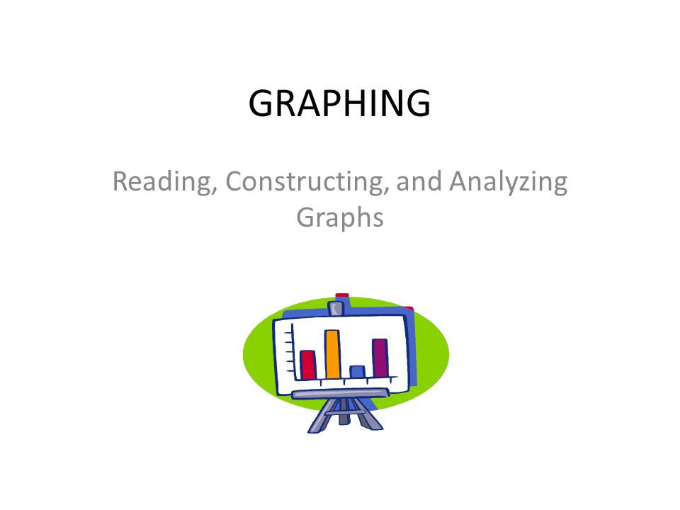 GRAPHING Reading, Constructing, and Analyzing Graphs