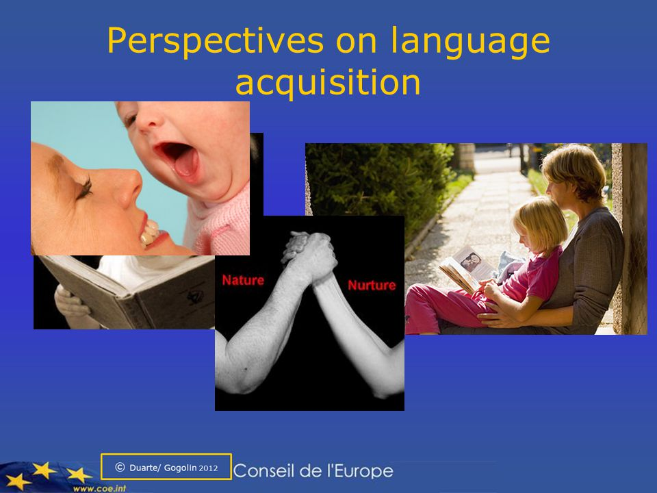 The language acquisition continuum Child (4): Did you see that big / long – hum - car.