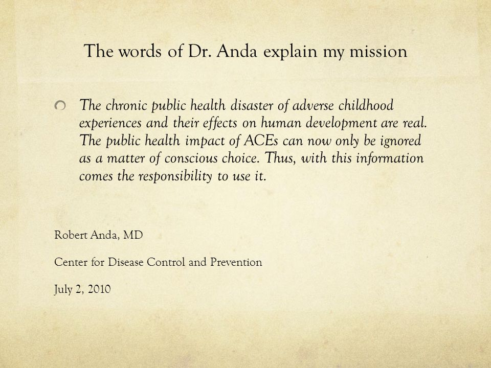 The words of Dr.