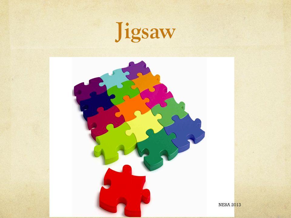 Jigsaw NESA 2013