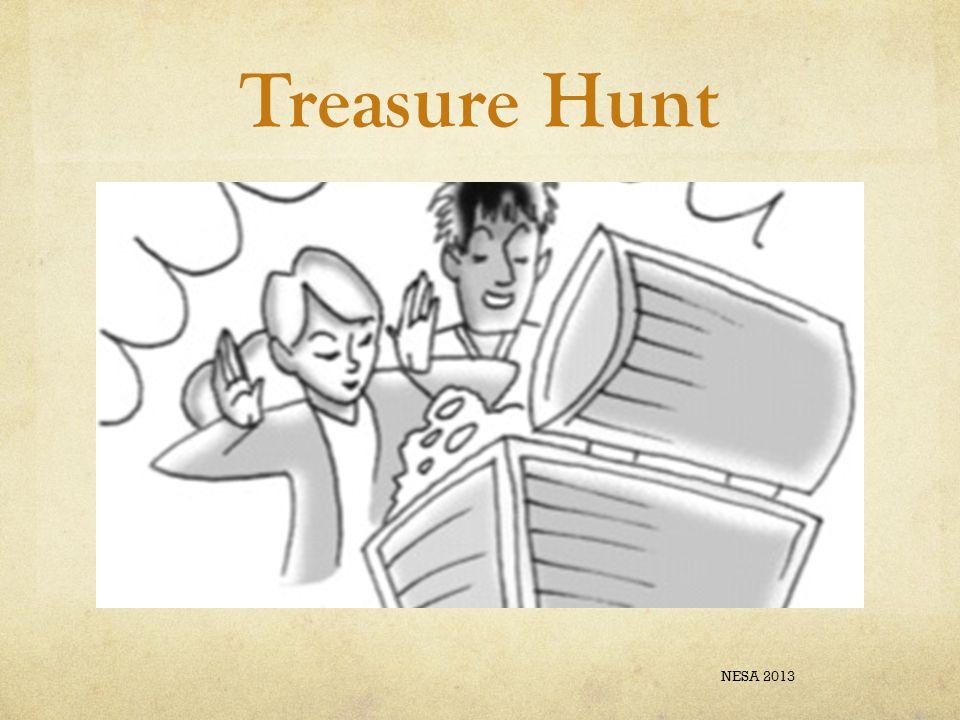 Treasure Hunt NESA 2013