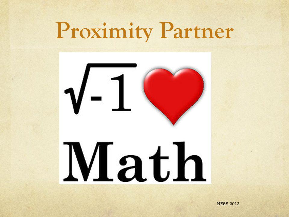 Proximity Partner NESA 2013